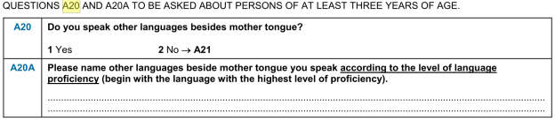 estonian questionnaire